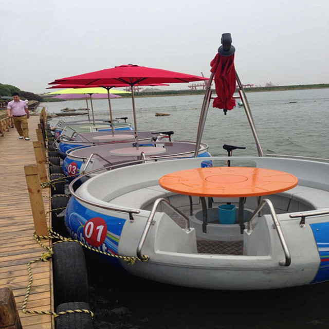 Cheap Modern Bbq Donut 8 Passengers Electric Boats for Sale